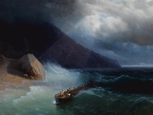 Art Prints of The Survivors by Ivan Konstantinovich Aivazovsky