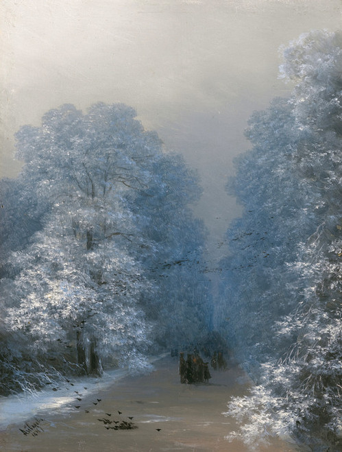 Art Prints of Winter Landscape by Ivan Konstantinovich Aivazovsky
