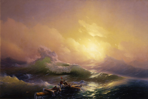 Art Prints of The Ninth Wave by Ivan Konstantinovich Aivazovsky