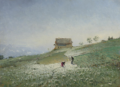 Art Prints of Laborers in the Field by Ivan Pavlovich Pokhitonov