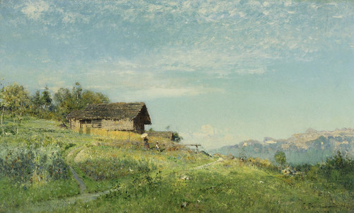 Art Prints of Spring 1887 by Ivan Pavlovich Pokhitonov