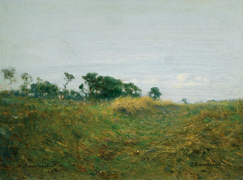 Art Prints of Path Through the Grass by Ivan Pavlovich Pokhitonov