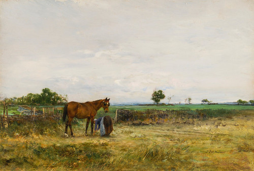 Art Prints of The Cart Horse by Ivan Pavlovich Pokhitonov