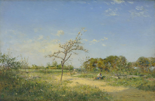 Art Prints of Spring 1888 by Ivan Pavlovich Pokhitonov