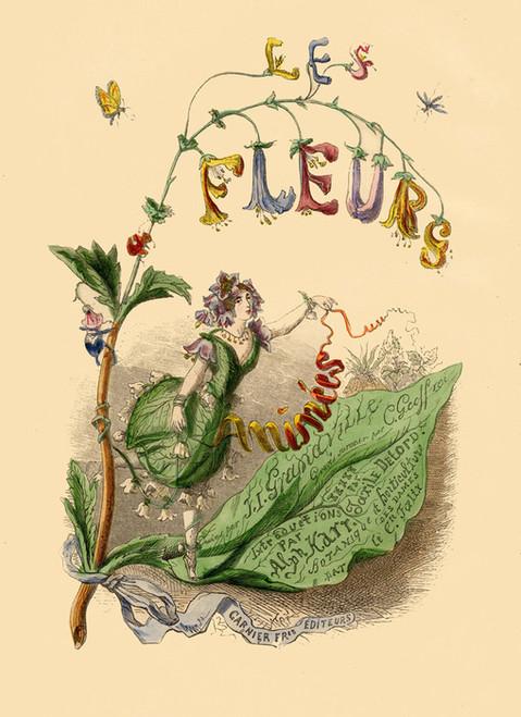 Art Prints of Les Fleurs by J. J. Grandville