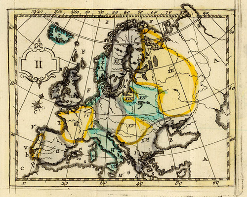 Art Prints of L'Europe, 1784 (4122002) by J.H. Schneider and Jean Marie Bruyset