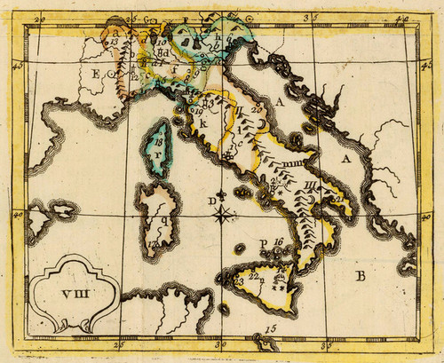 Art Prints of Italy, 1784 (4122008) by J.H. Schneider and Jean Marie Bruyset