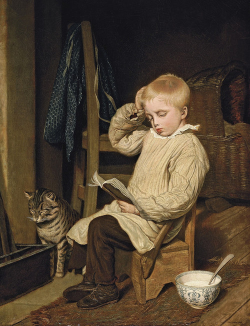 Art Prints of The Hard Word by Jacques-Laurent Agasse