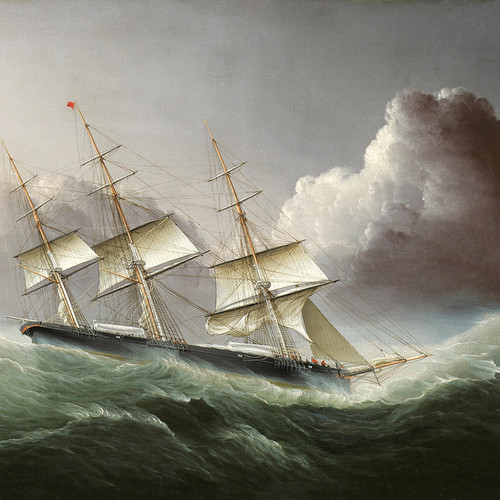 Art Prints of Clippership Flying Cloud by James Edward Buttersworth
