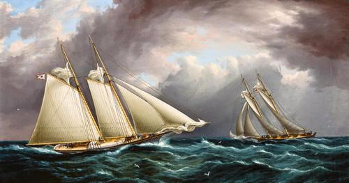 Art Prints of Yacht Race by James Edward Buttersworth