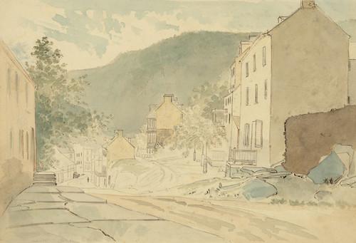 Art Prints of Washington St., Harper's Ferry (23038L) by James Madison Alden