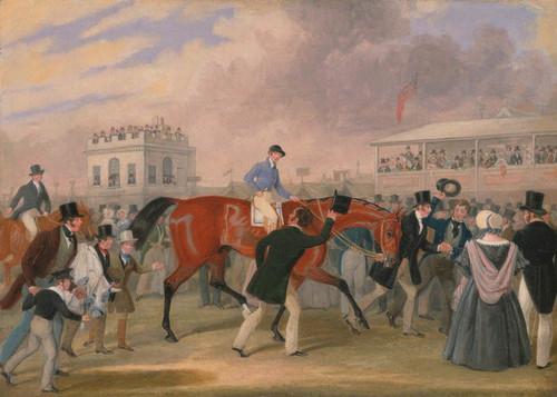 Art Prints of The Derby Pets the Winner by James Pollard