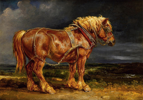 Art Prints of Horse by James Ward