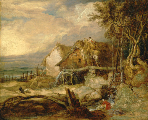 Art Prints of An Overshot Mill by James Ward