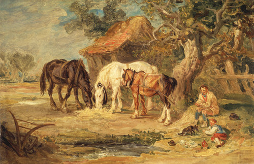 Art Prints of The Midday Meal by James Ward