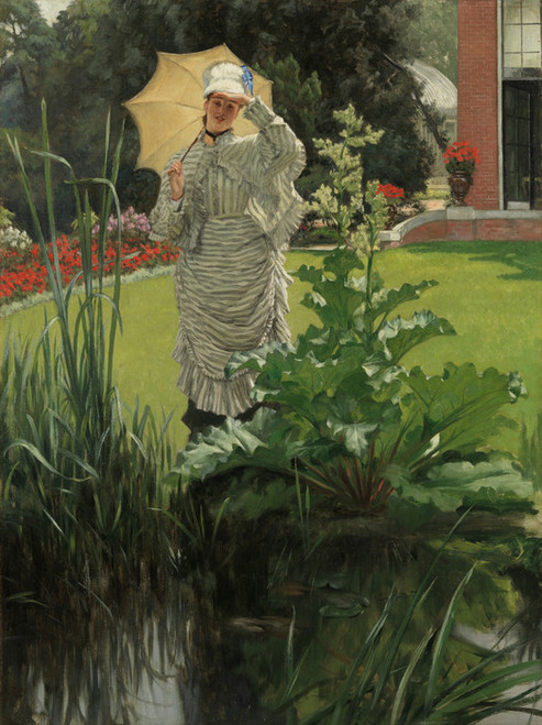Art Prints of Spring Morning by James-Jacques-Joseph Tissot