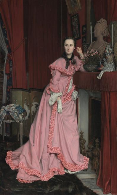 Art Prints of Portrait of the Marquise de Miramon by James-Jacques-Joseph Tissot