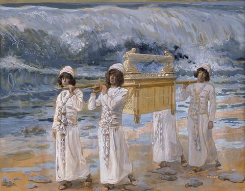 Art Prints of The Ark Passes over the Jordon by James-Jacques-Joseph Tissot