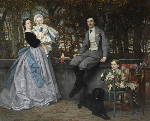Art Prints of Marquis and Marchioness of Miramon by James-Jacques-Joseph Tissot