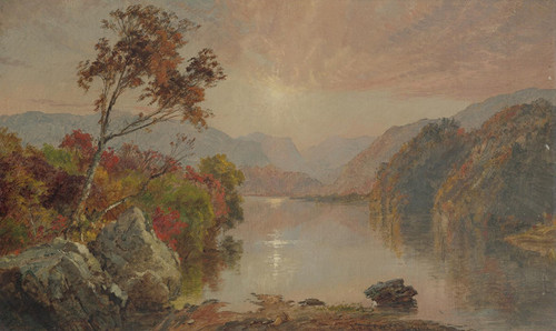 Art Prints of Autumn Landscape III by Jasper Francis Cropsey