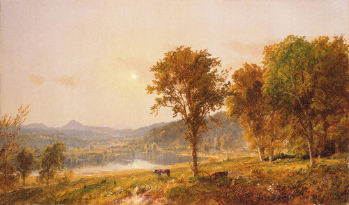 Art Prints of Brimstone and Sugar Loaf Mountains by Jasper Francis Cropsey