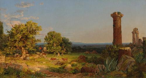 Art Prints of Italian Landscape by Jasper Francis Cropsey