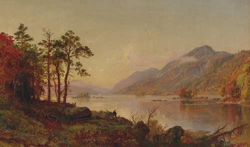 Art Prints of Lake George by Jasper Francis Cropsey