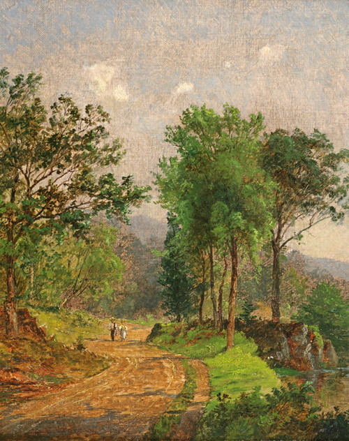 Art Prints of Path in a Landscape by Jasper Francis Cropsey