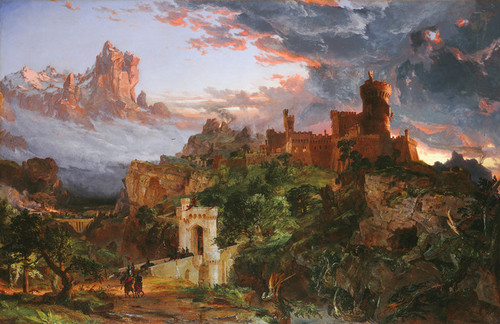 Art Prints of The Spirit of War by Jasper Francis Cropsey