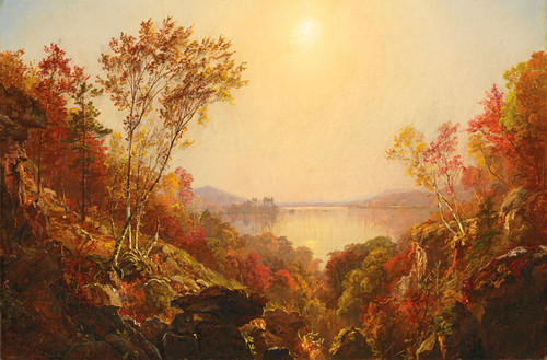 Art Prints of The Greenwood Lake by Jasper Francis Cropsey