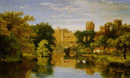 Art Prints of Warwick Castle England by Jasper Francis Cropsey