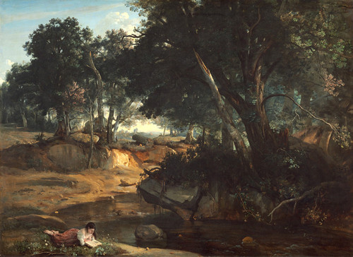 Art Prints of Fontainebleau II by Camille Corot