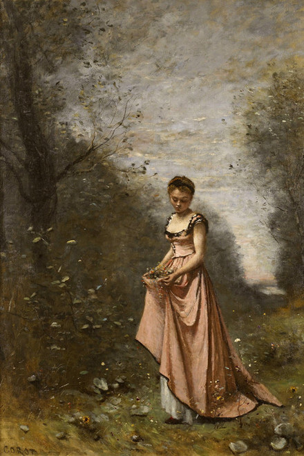 Art Prints of Spring of Life by Camille Corot