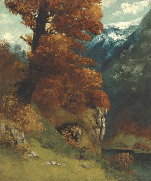 Art Prints of The Hunter by Camille Corot