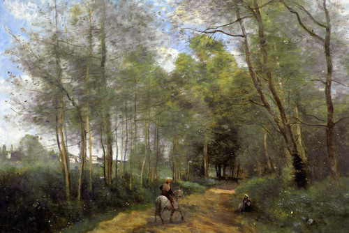 Art Prints of Ville d'Avray by Camille Corot