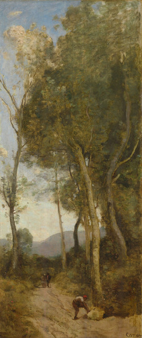 Art Prints of The Four Times a Day, Noon by Camille Corot