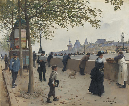 Art Prints of Le Pont Neuf by Jean Beraud