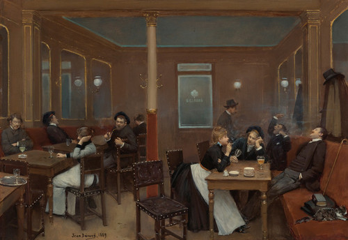 Art Prints of Student Brewery by Jean Beraud