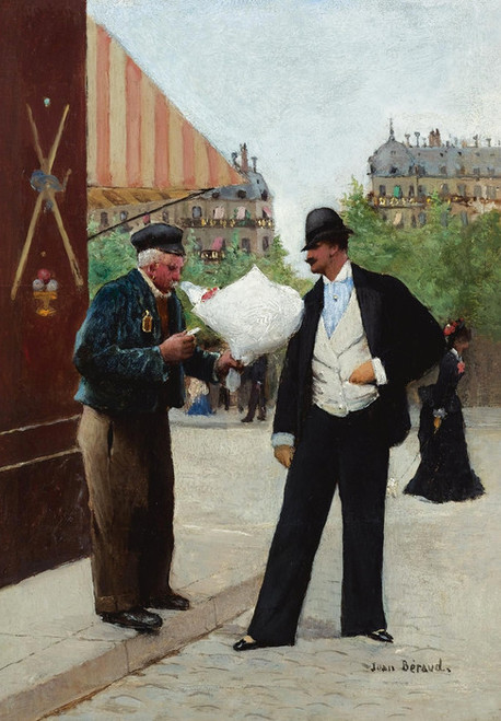Art Prints of The Delivery Guy by Jean Beraud