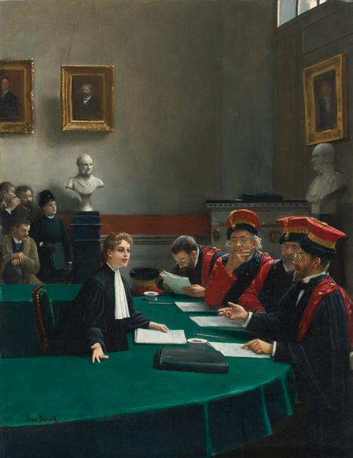 Art Prints of The Doctoral Jury by Jean Beraud