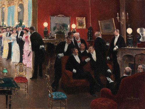 Art Prints of The Reception by Jean Beraud