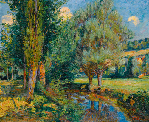 Art Prints of Banks of the River by Jean-Baptiste-Armand Guillaumin
