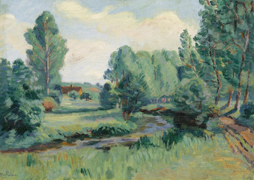 Art Prints of Jouy Ile-de-France by Jean-Baptiste-Armand Guillaumin