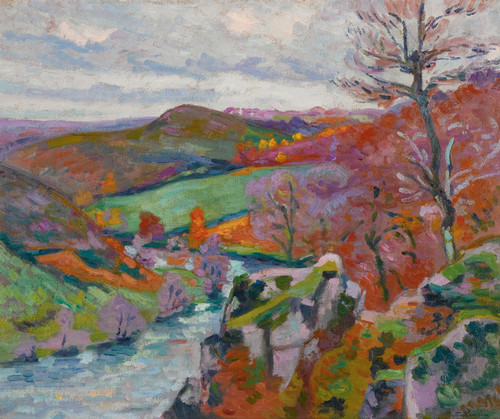 Art Prints of Landscape Creuse by Jean-Baptiste-Armand Guillaumin