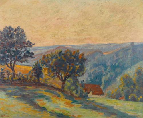Art Prints of La Vallee de la Creuse by Jean-Baptiste-Armand Guillaumin