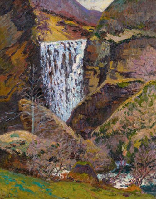 Art Prints of Landscape of Creuse by Jean-Baptiste-Armand Guillaumin