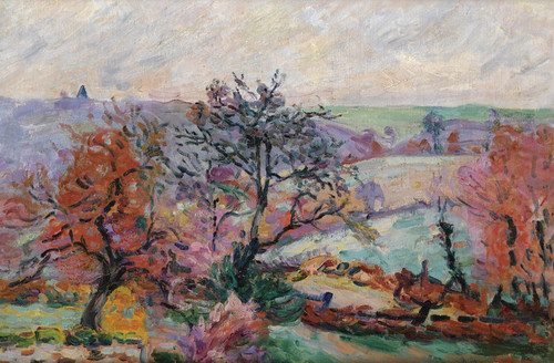 Art Prints of View of Crozant by Jean-Baptiste-Armand Guillaumin