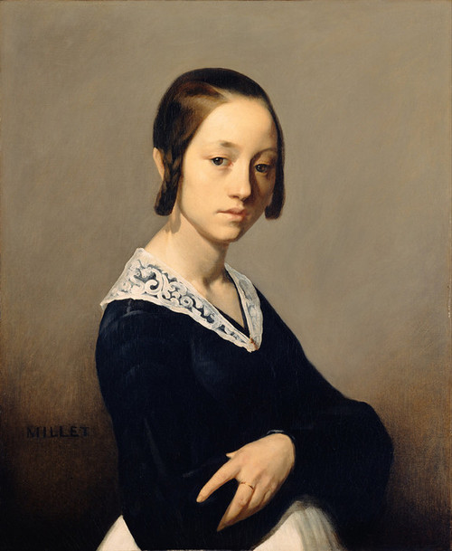 Art Prints of Louise Antoinette Feuardent by Jean-Francois Millet