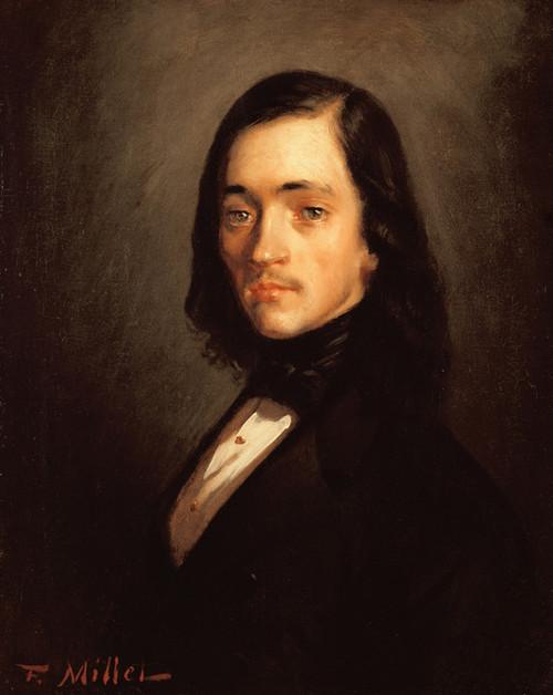 Art Prints of Portrait of a Man by Jean-Francois Millet