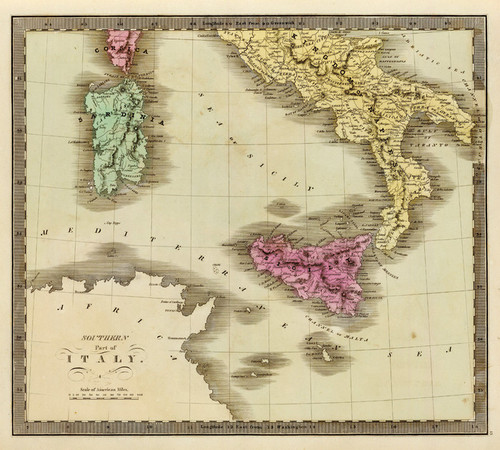 Art Prints of Southern Part of Italy, 1840 (4850013) by Jeremiah Greenleaf